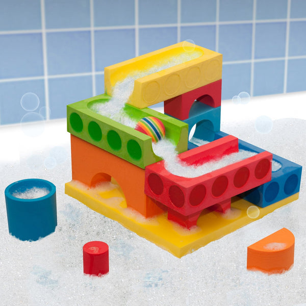 BathBlocks Ball Run & Water Fall in Gift Box