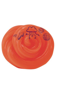 "Crazy Aaron's Thinking Putty 4"" Tin - GHOSTWRITERS Cryptic Code - Draw with Reactive Glow Charger - Never Drives Out"
