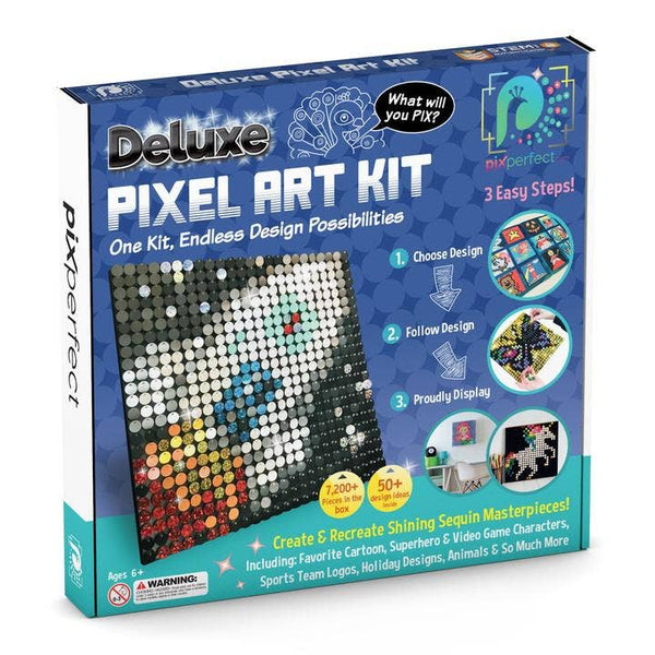 Pix Perfect - Deluxe Pixel Art Kit (18 Colors)