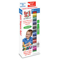 Kwik Stix Tempera Paint - 12 Classic Colors