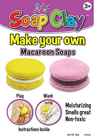 Soap Clay Kit- Macaroons