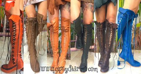4 pairs of Gipsy Dharma boots for the price of 2