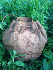 'Wine Cork' String Hand Bag and Rucksack
