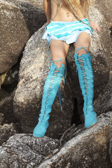 'Mermaid's dream' Knee High Boots for Pre Order