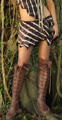 Chocolate Brown Knee High Boots