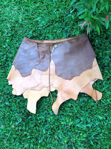 Fairy Whisper Leather Skirt