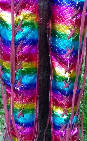 Rainbow Gipsy Dharma Knee High boots