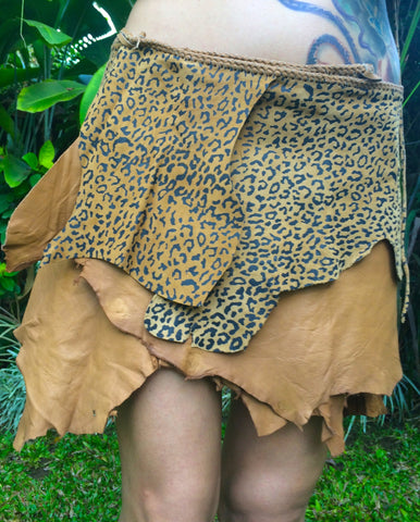 Jane Leather Skirt for Pre Order