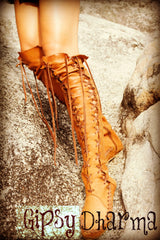 Gipsy Dharma Boots of the day in Neutral Colour