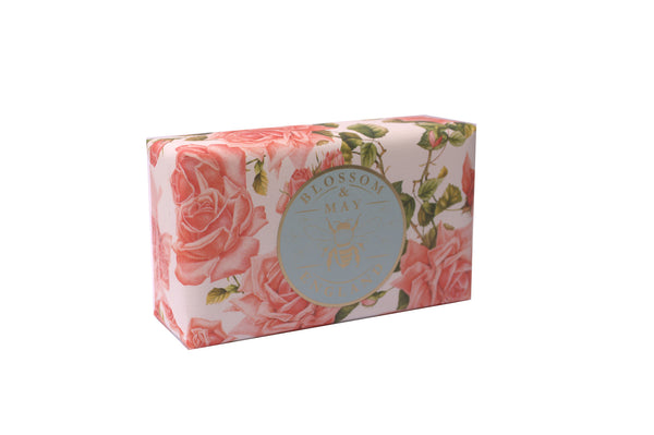 ENGLISH ROSE, HAND MADE ENGLISH SOAP 200g