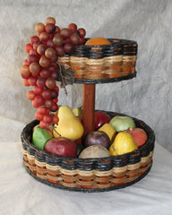 Double Lazy Susan Basket