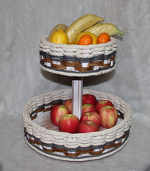 Double Lazy Susan--Cottage Grey