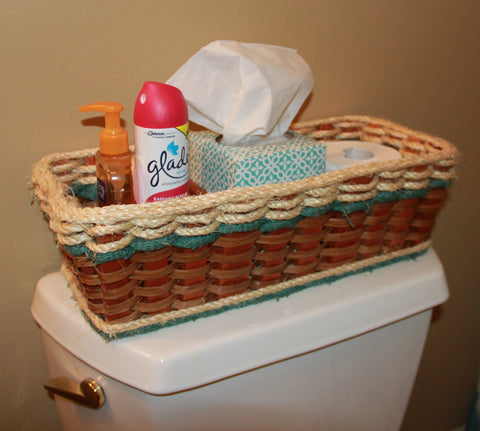 Shabby Chic Collection--tank topper basket