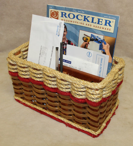 Shabby Chic Collection--Mail Organizer Basket