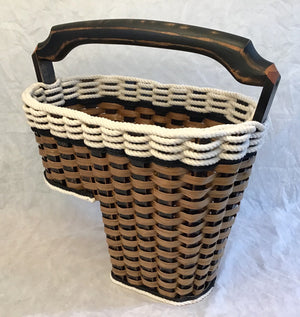 Step Basket-Cottage Black large