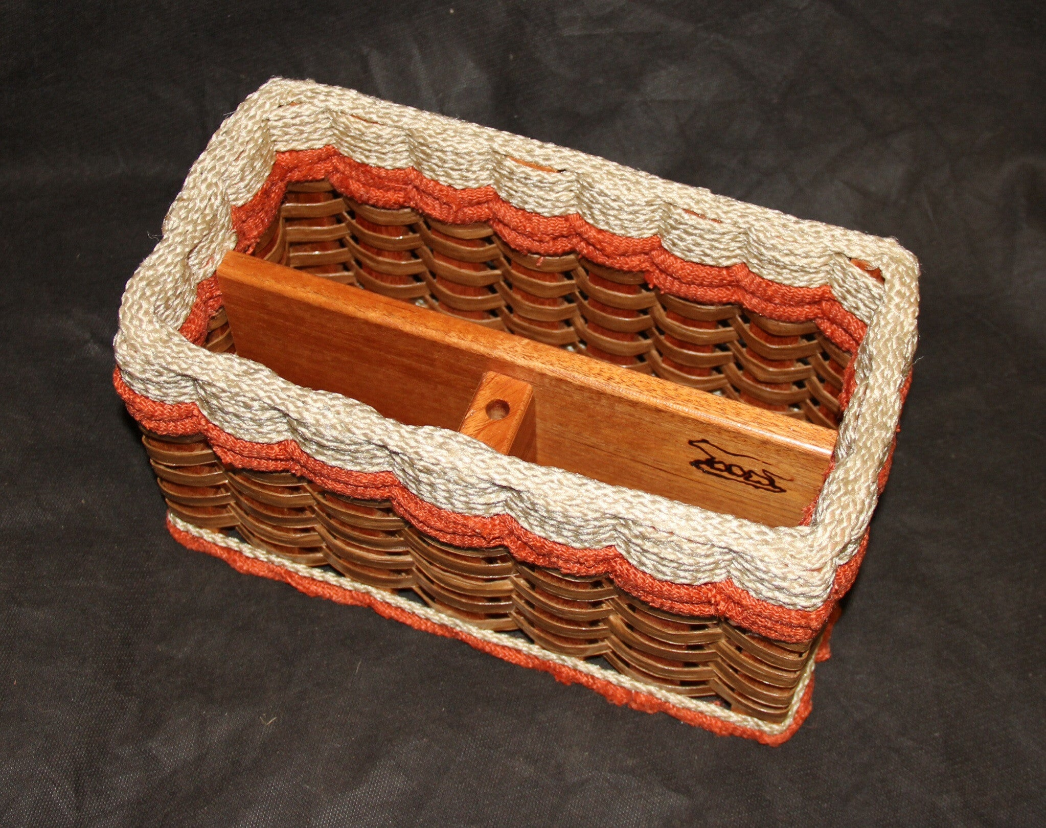 Mail Organizer Basket-Shabby Chic Collection