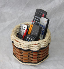 Remote Lazy Susan Basket--Shabby Chic Collection