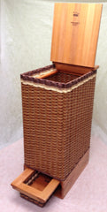 Hamper with delicates drawer