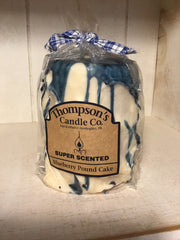Candle-Blueberry poundcake
