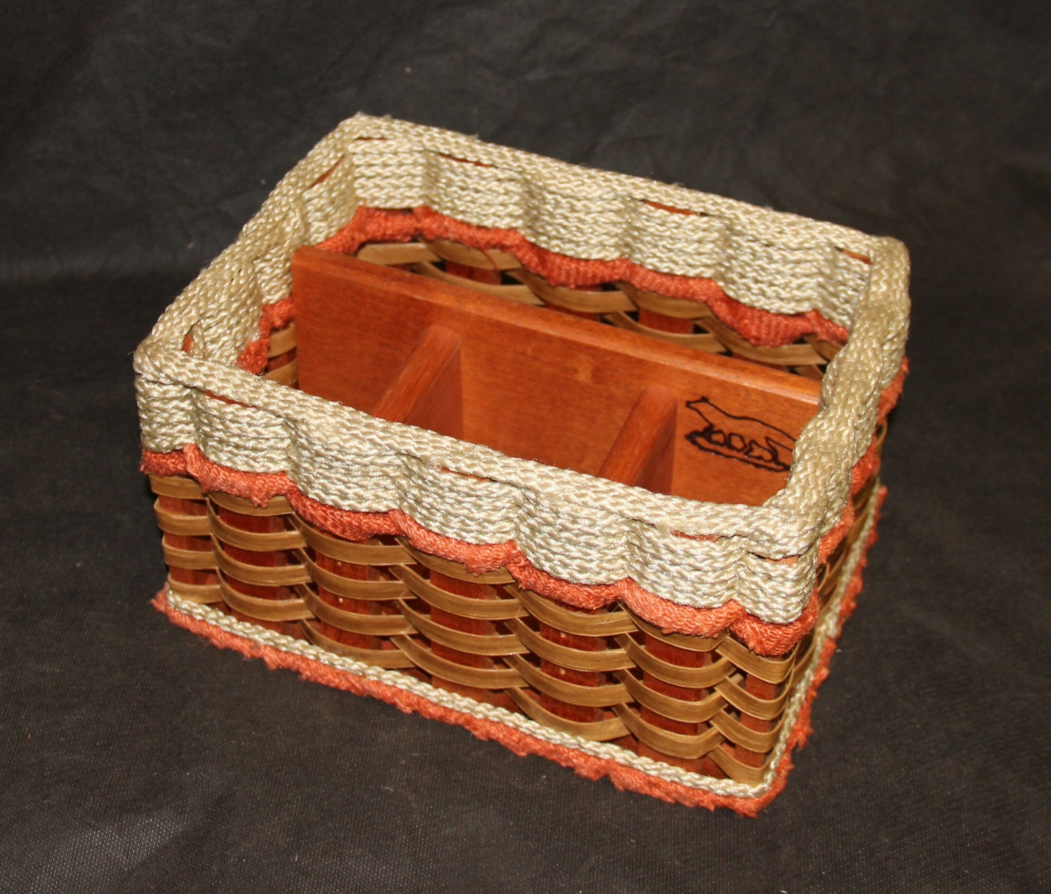 Silverware Basket--Shabby Chic Collection