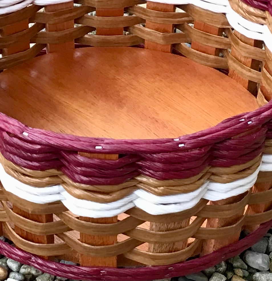 Coffee Bar Lazy Susan Basket