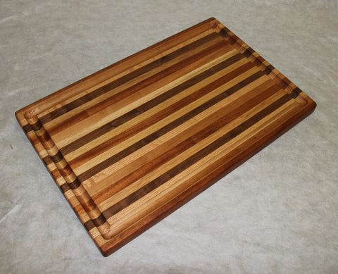 Cutting board-- Small Stripes