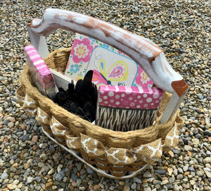 Picnic Party Basket-Shabby Chic Collection