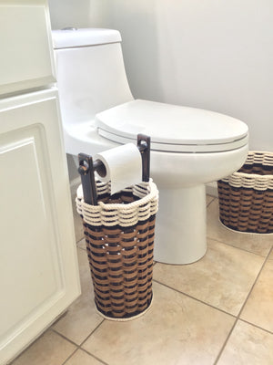 Toilet paper w/dowel-Cottage Black