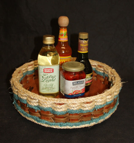 Shabby Chic Collection--13inch Lazy Susan Basket