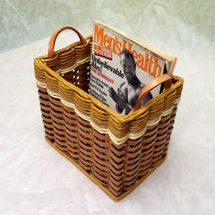 Bathroom Magazine Holder Basket