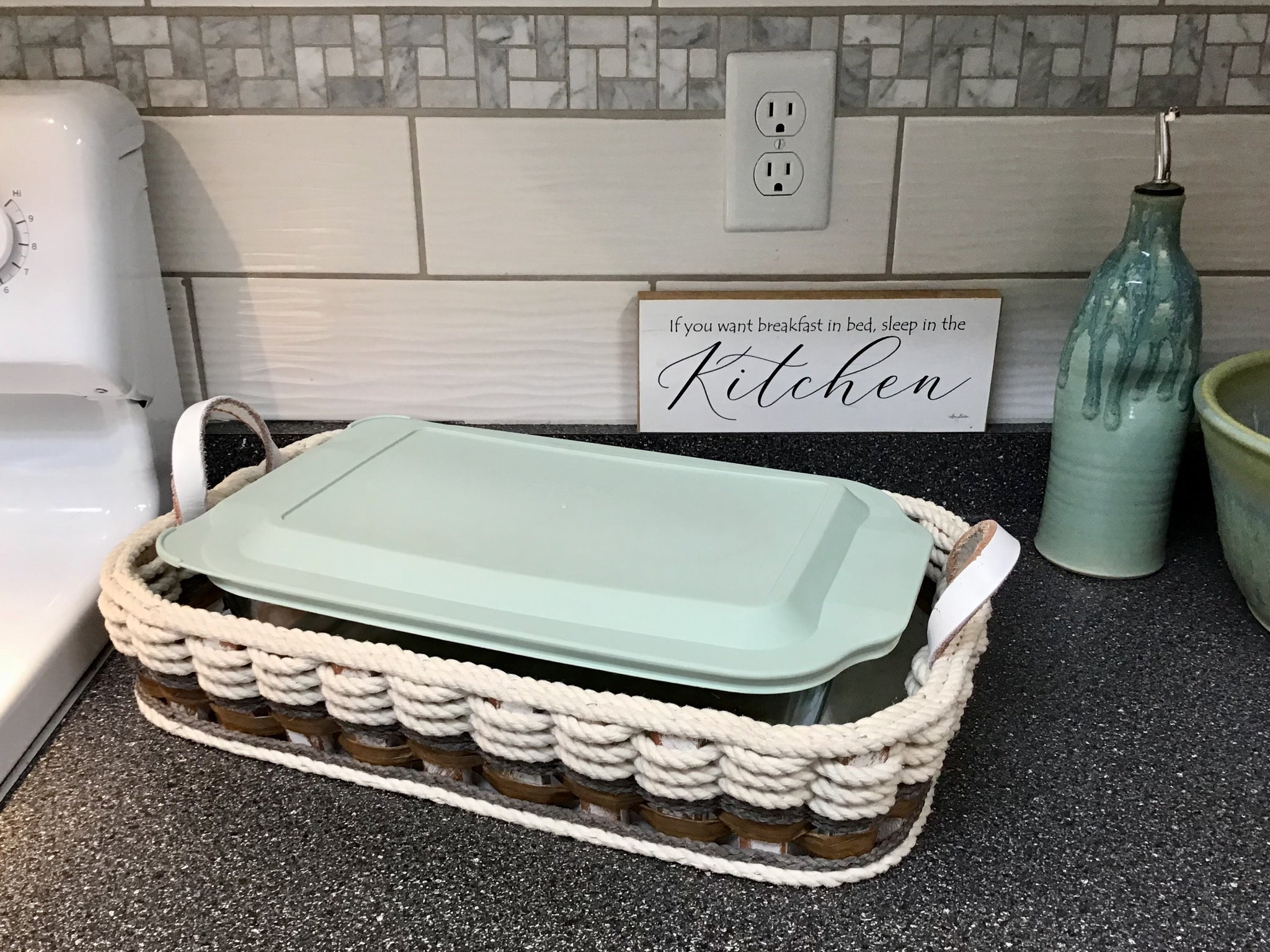 Casserole Tray 9x13-Cottage Grey