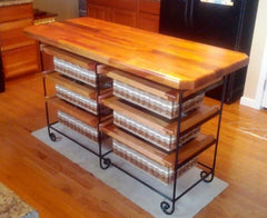 Island-19x56 Six drawer unit