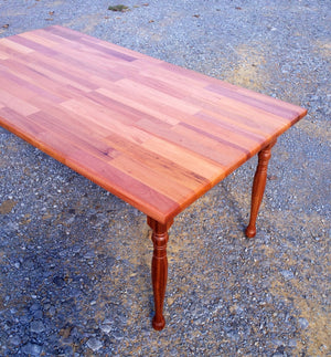 Table-32 x 66-solid mahogany dining room table