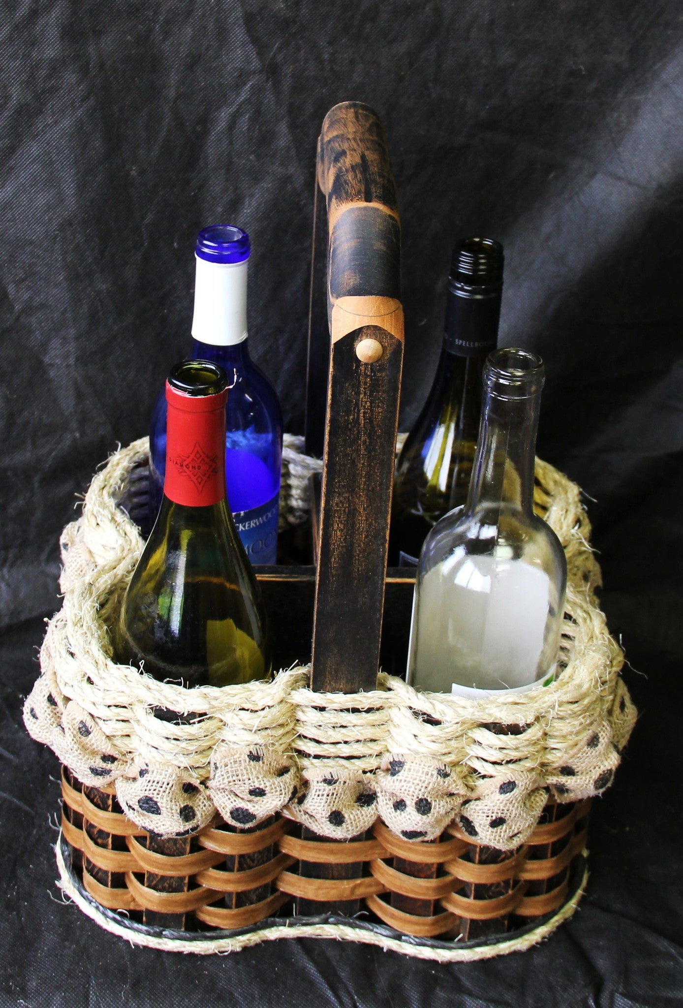 Shabby Chic Collection-- Wine Cellar Basket