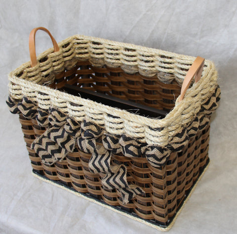 Shabby Chic Collection-- File Organizer Basket