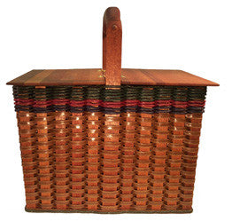 Lidded Picnic Basket-large