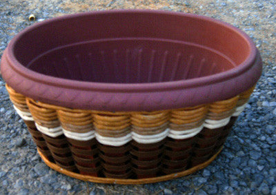 Planter- Oval Planter Basket