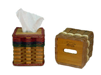 Square Tissue Basket