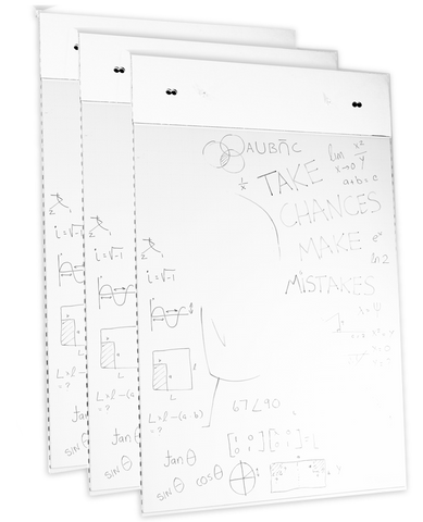 WipeChart Flipchart Packs (+easel)