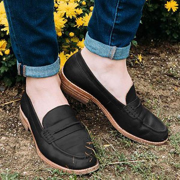 Casual Comfort Slip-On Shoes - RoseNova