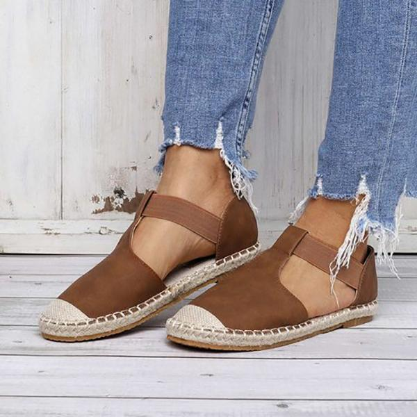 Casual Solid Color Flat Sandals