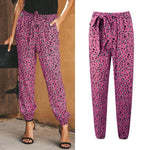 Loose Leopard Casual Pants