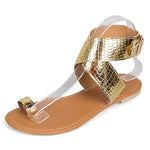 Fashion Buckle Strap Beach Sandals - MagCloset