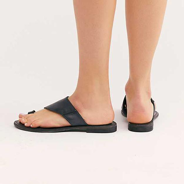 Vintage Summer Flat Flip-Flops Toe Ring Slippers
