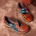 Bohemian Round Toe Casual Flats Loafers