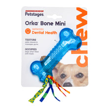 Load image into Gallery viewer, Petstages Orka Bone Chew Toy Mini