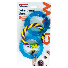 Load image into Gallery viewer, Petstages Orka Dental Links Chew Toys