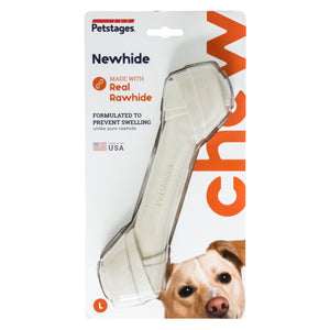 Petstages NewHide Rawhide Replacement Chew Large