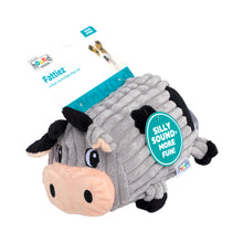 Load image into Gallery viewer, Outward Hound Fattiez Dog Plush Toy Cow