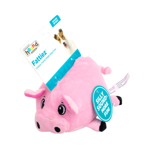 Outward Hound Fattiez Dog Plush Toy Pig